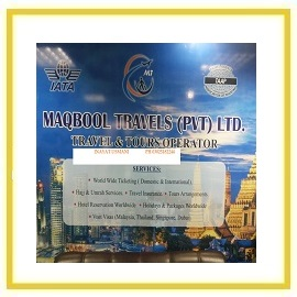 MAQBOOL TRAVELS PVT LTD