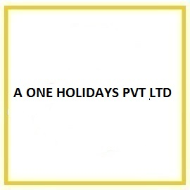 A ONE HOLIDAYS PVT LTD