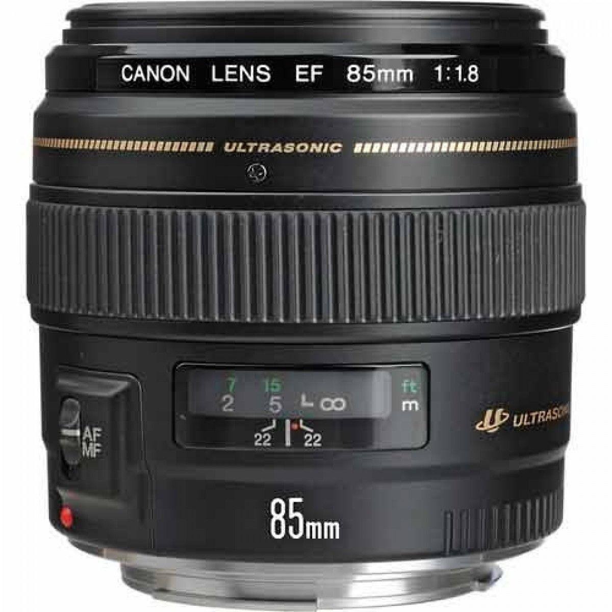 Canon EF 85mm f 1.8 USM Lens