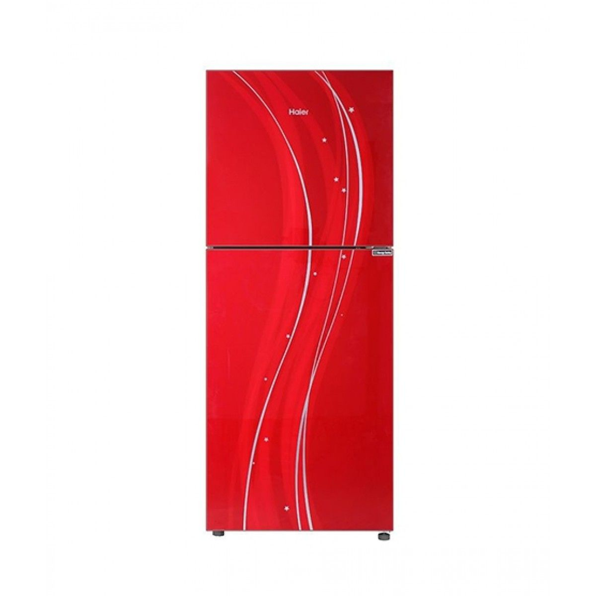 Haier HRF-276EPR 8.5 Cu Ft Refrigerator Red
