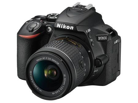 Nikon D5600 Digital Camera With 18-55mm VR Lens