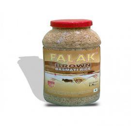 Falak Brown Basmati Rice Bottle 1.5 KG