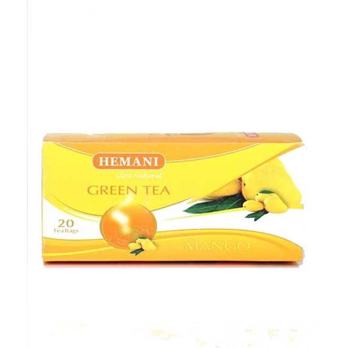 Hemani Mango Green Tea 20 Tea Bags