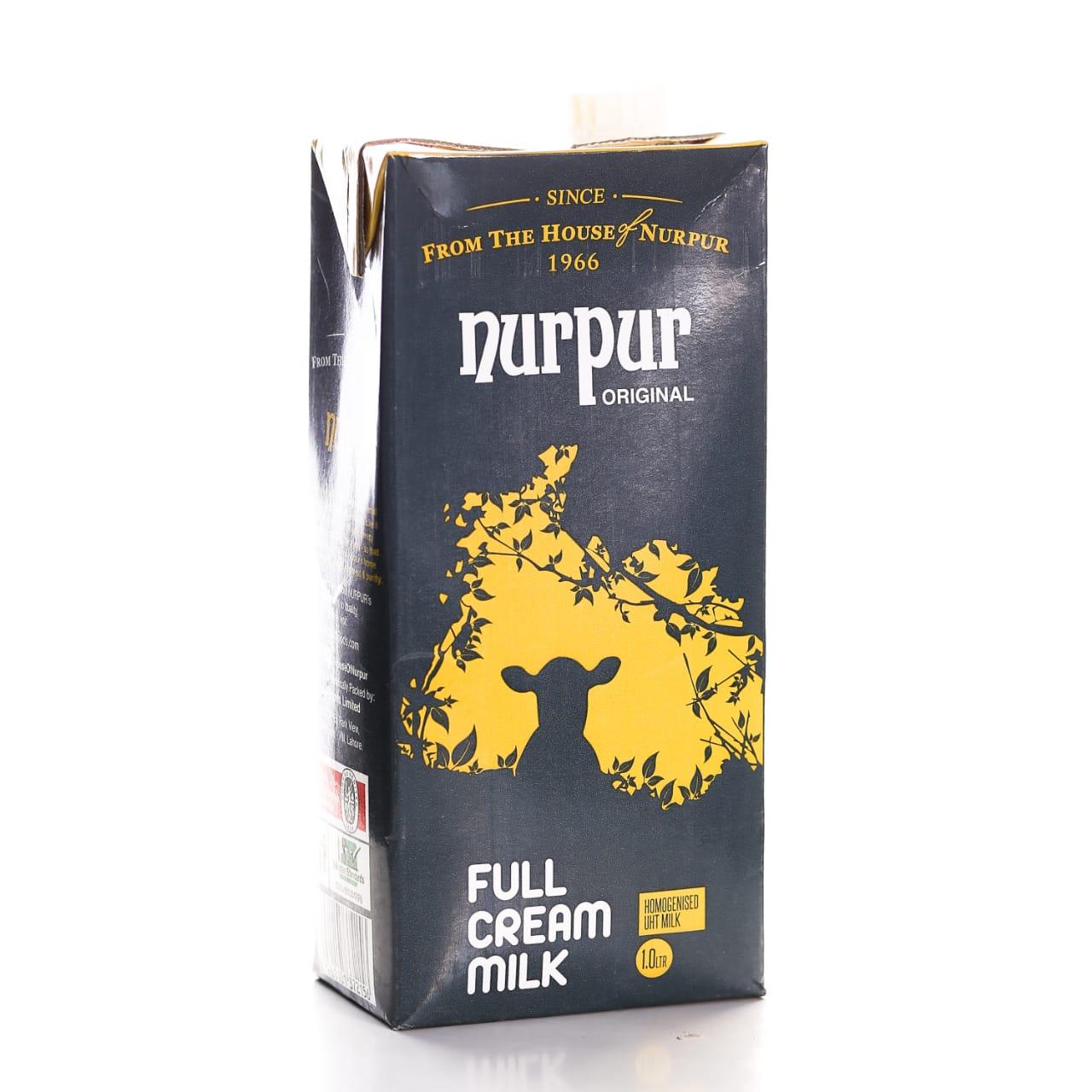Nurpur Original Full Cream Milk 1Ltr